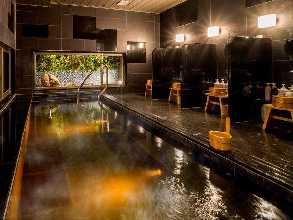 24時間ご入浴可能な男女別天然温泉「白峰三山の湯」完備☆【効能】神径痛・筋肉痛・関節痛・五十肩など