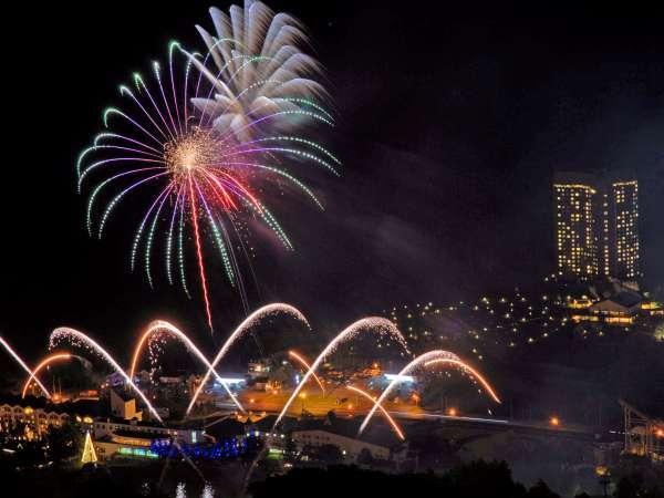 ◇【日程限定】夏休み花火大会!(2021年度開催予定日:2021/7/24、7/31、8/7、8/11-8/15、8/21)
