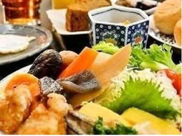 【当館一番人気】☆朝食バイキング付プラン☆