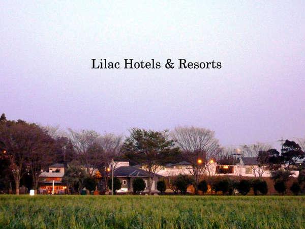 ビジネスホテル ライラックの外観