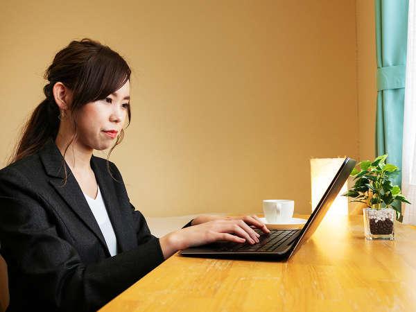 ★全館Wi-Fi完備★長期出張など、ビジネス利用にも人気の宿です♪