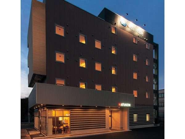 セントラルホテル松軒の外観