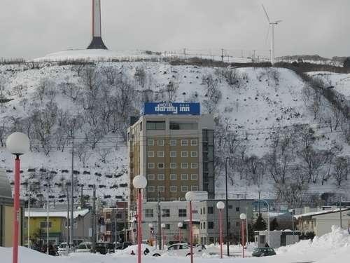 ◆ホテル外観(冬)