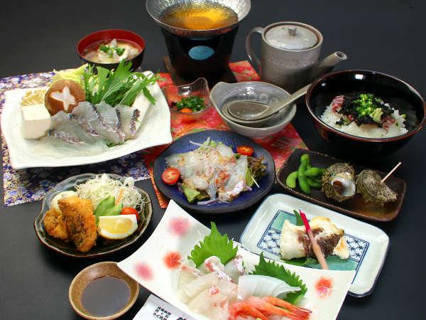 敦賀真鯛のフルコース