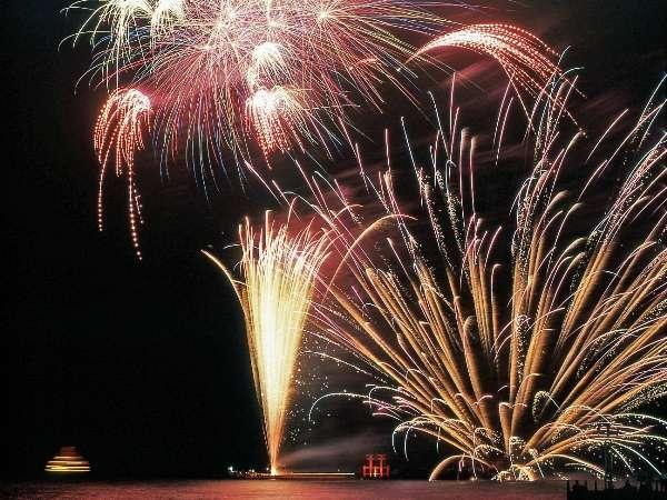 【7/31〜8/5限定】芦ノ湖夏祭りウィークで花火を満喫