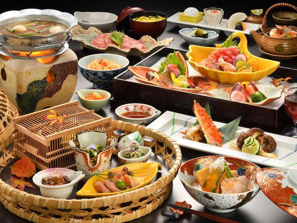 """【夕食/秋】""""味覚の秋""""ならではの会席料理をご堪能いただけます(画像はイメージです)。"""