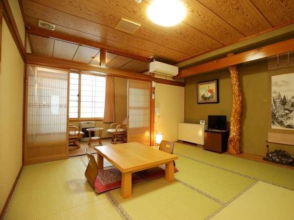 *客室一例(和室106)/畳のお部屋でごゆっくりお過ごしください。