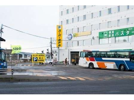 スーパーホテル釧路駅前の外観
