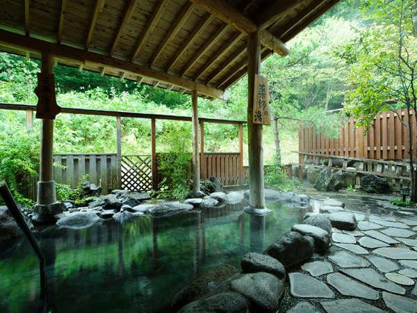 *露天風呂(男湯)/自慢の元湯源泉の露天風呂