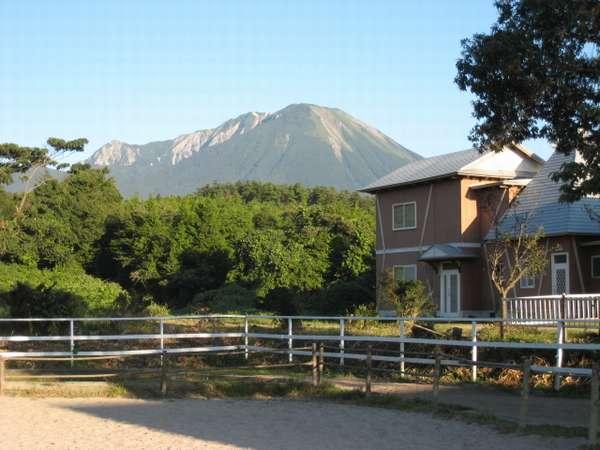 大山乗馬センターの外観