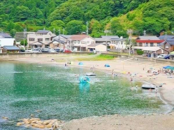 『世久見海水浴場』宿から徒歩1分!!海水浴でサマーENJOY♪♪
