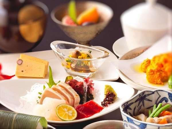 【スタンダードプラン】●旬の食材を使った和洋会席1泊2食●季節の食材を季節に頂ける幸せ♪迷ったらコレ