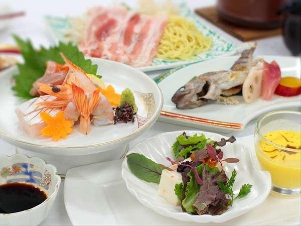 【人気NO.1プラン】●旬の食材を使った和洋会席1泊2食●季節の食材を季節に頂ける幸せ♪迷ったらコレ!