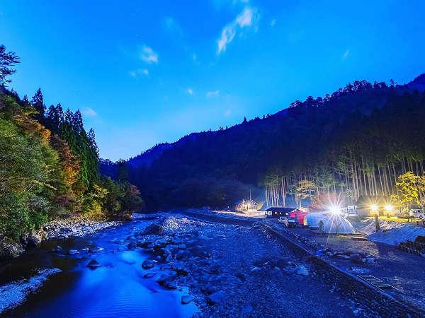 ・那賀川や自然と一体となった気分になれるフォレストリゾート♪