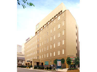 R&Bホテル仙台広瀬通駅前の外観