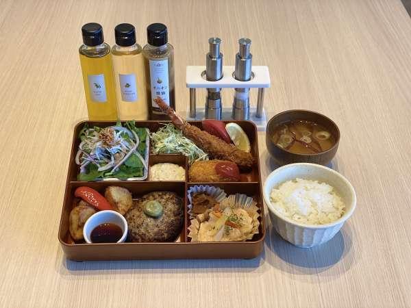 【夕食イメージ】レストランでの夕食は洋食スタイル♪「閖上港食堂HACHI」がお届けする洋食ご膳