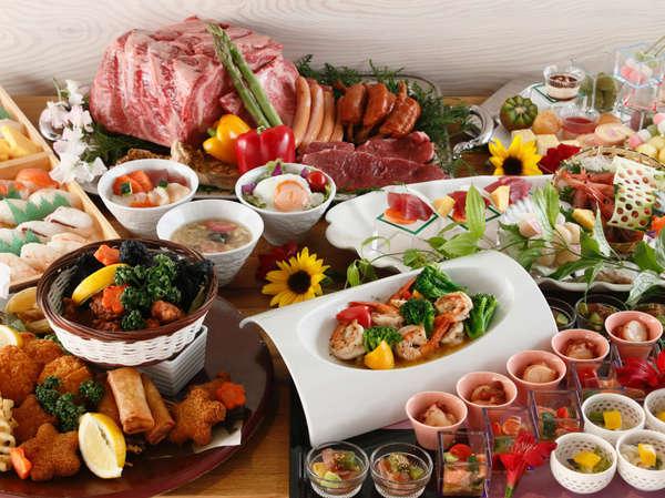 ■バイキング■2021年夏のテーマは「ハワイアン」寿司・ステーキ・天ぷらなどの人気メニューも味わって♪