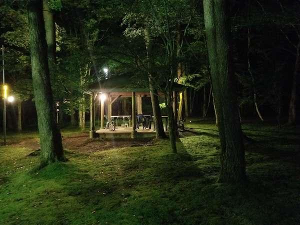 ~緑に囲まれながらプライベートバーベキュー~ まるでグランピング、キャンプをしているような気分にも☆