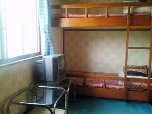 洋室 2段ベッドのお部屋です