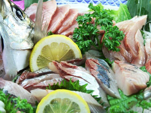 旬で新鮮なお魚が盛りだくさんの皿盛り!!!j