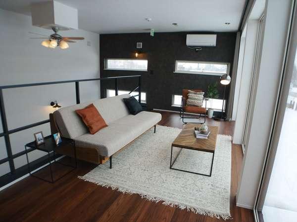 【ソファースペース】2階のソファースペース