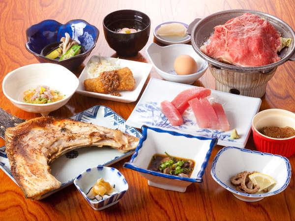 わかたけの定番!まぐろ料理と鯨料理のわかたけプラン