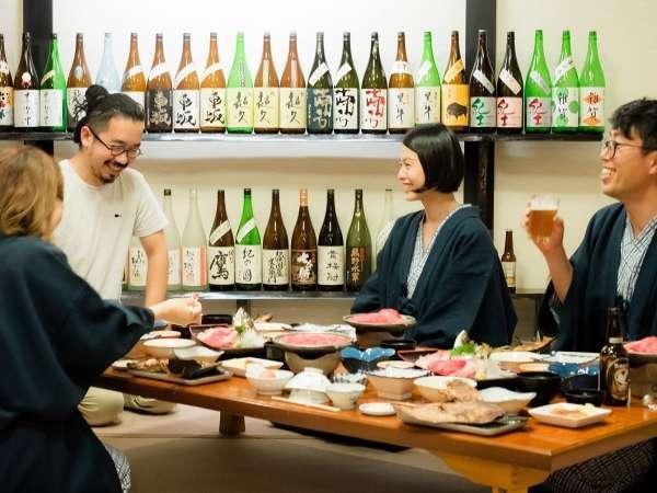 利酒師の店主自ら料理に合う日本酒をご案内いたします。