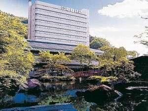 当館は鳴子温泉の高台にございます。お庭散策される方も多いです