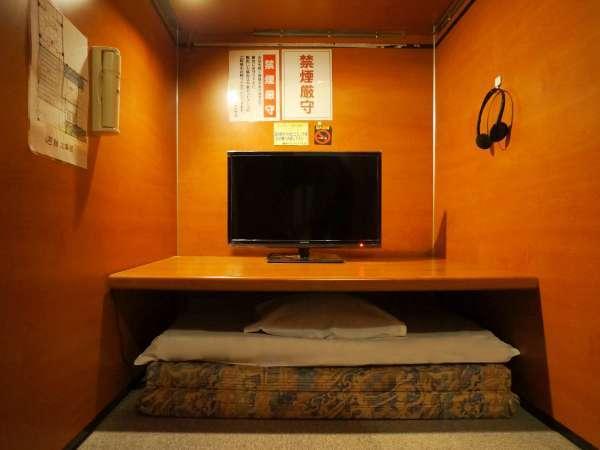 【男性限定】 テレビブース ブースタイプの部屋でゆったり! (カプセルではありません)