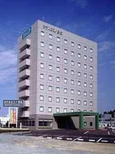 ホテルエコノ多気の外観