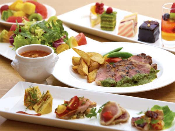セレクトディナーブッフェ&バー グルメプラン(朝食付)