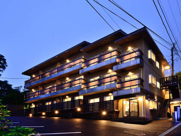 箱根強羅 旅人の宿 e-Roomsの外観