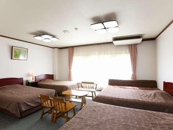 広々和室or4ベッドでのゆったり宿泊・素泊まりプラン
