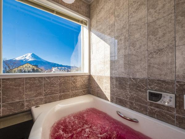 富士山眺望ジャグジー風呂【プライベートコテージ】
