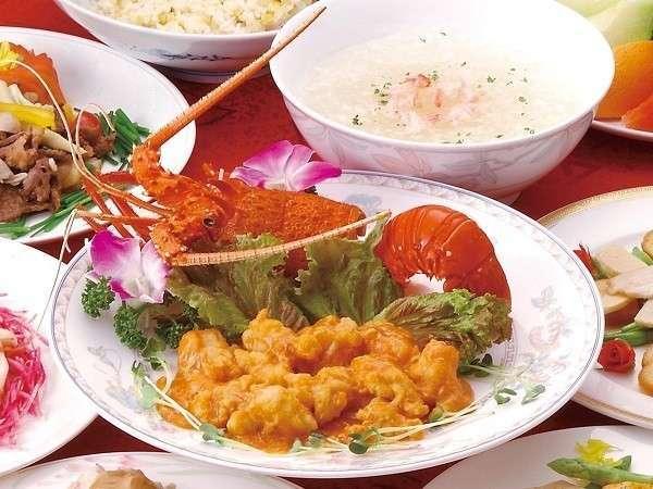 中華≪福寿林≫伊勢海老のチリソース※料理イメージ