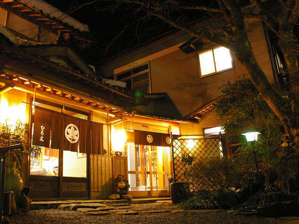 京都貴船 料理旅館 ひろ文の外観