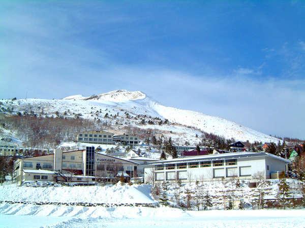 車山ハイランドホテルの外観