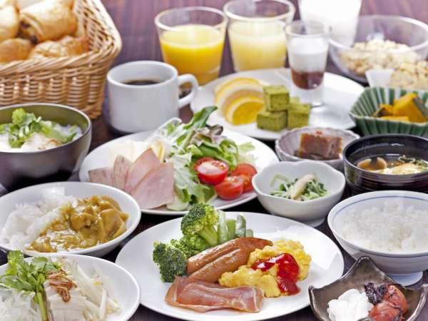 【朝食付きプラン】 9月13日よりフルバイキングにリニューアル