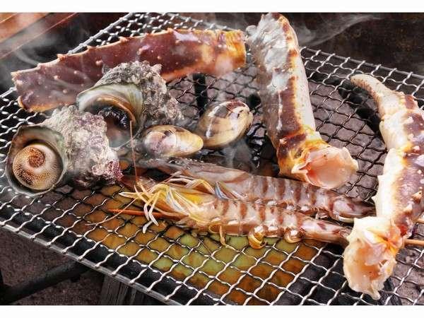 【囲炉裏御膳+海鮮の炭火焼!】贅沢☆囲炉裏炭火焼き海鮮スペシャルプラン