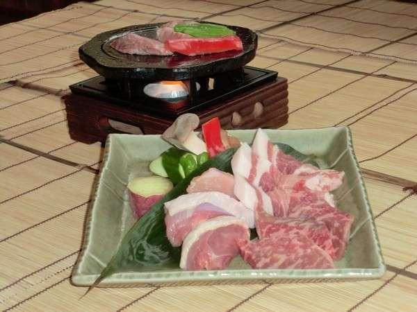 熊本の名産お肉3種類付き!よくばりプラン♪♪