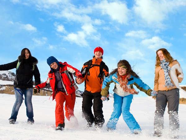 【朝食付】スキー場まで徒歩0分!気軽にスキープラン
