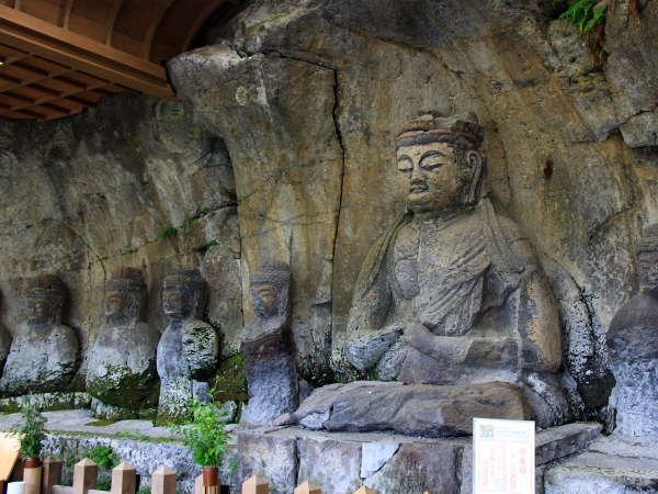 国宝臼杵石仏の入口までなんと徒歩1分!じっくり石仏巡りができますよ♪