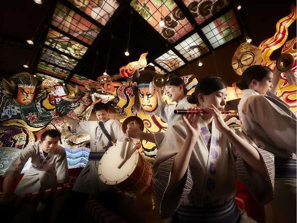 【青森四大祭りショー】青森ねぶた祭、八戸三社大祭、五所川原立佞武多、弘前ねぷたまつりのお祭りを演奏