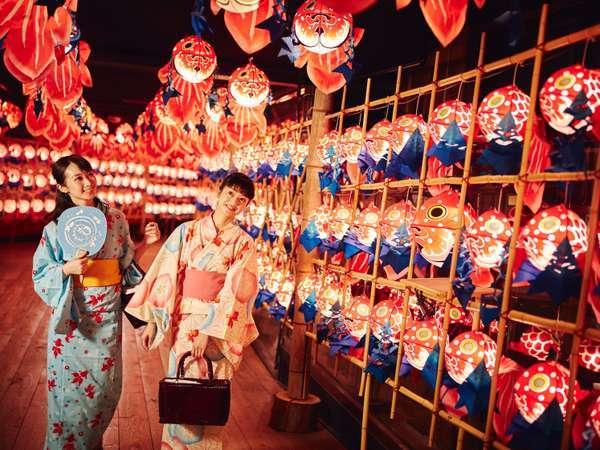 【しがっこ金魚まつり】「金魚ねぷた灯篭回廊」が彩る夏のお祭りを開催します。