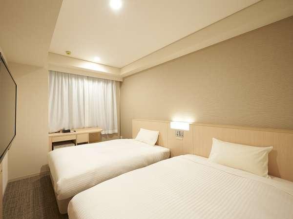 【素泊まり】お部屋広々♪ ツインルームお試し宿泊プラン