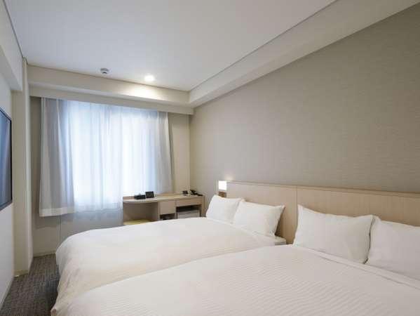 【朝食付】お部屋広々♪ ツインルームお試し宿泊プラン