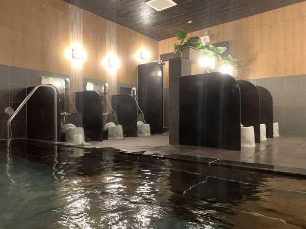 【男性大浴場】足を伸ばしてお寛ぎ頂けます。