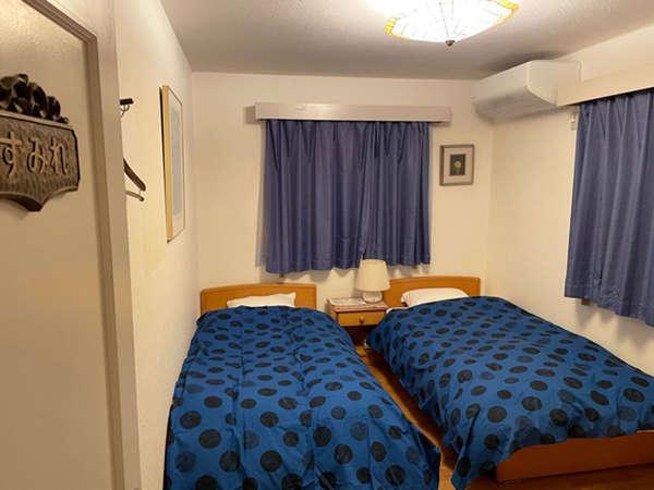 ・ツインルーム シングルベッド2台設置しています