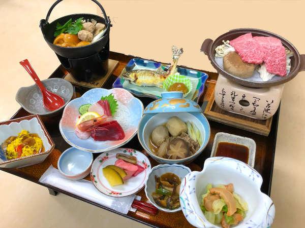 【夕食一例】グレードアップコース