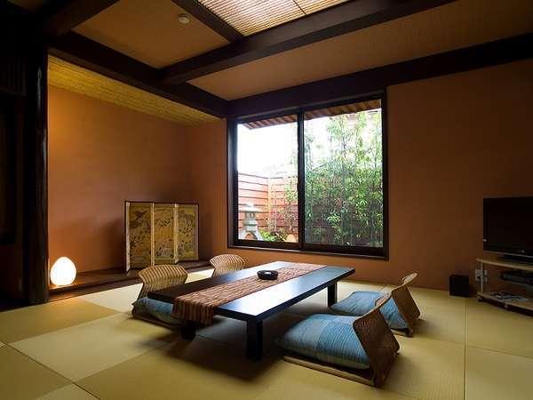 庭園内独立1戸建て~離れ風月庵~専用露天風呂/ベッドルーム付